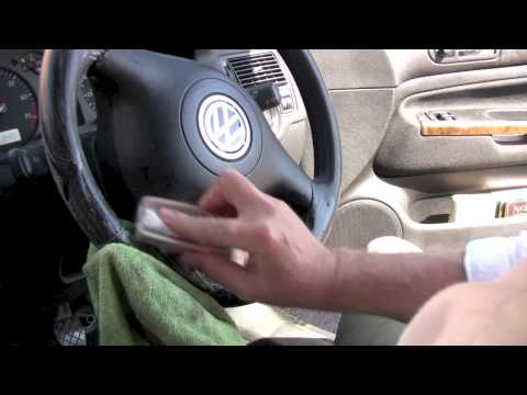 Thumbnail: How to clean a steering wheel from RAC handbook series