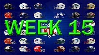 Kleschka's Picks | NFL Week 15