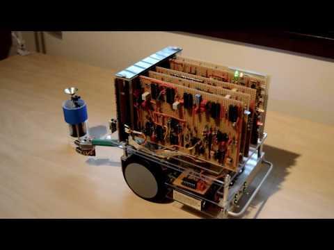 New Scientist XCR-1 robot demo
