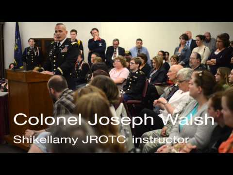 Rally for Shikellamy JROTC