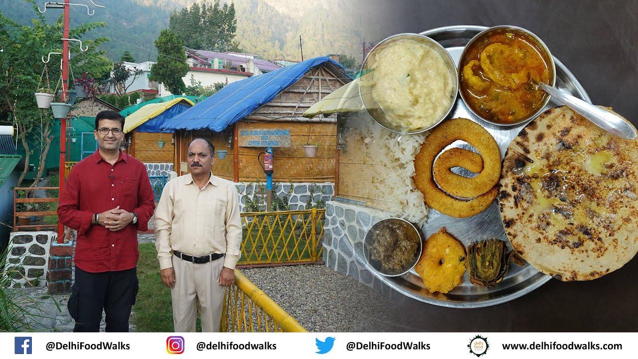 KUMAONI Traditional FOOD I BADI Bhaat + BEDU Roti + SINGHAL Ki Mithai + BHAANG ki CHUTNEY + PATODE
