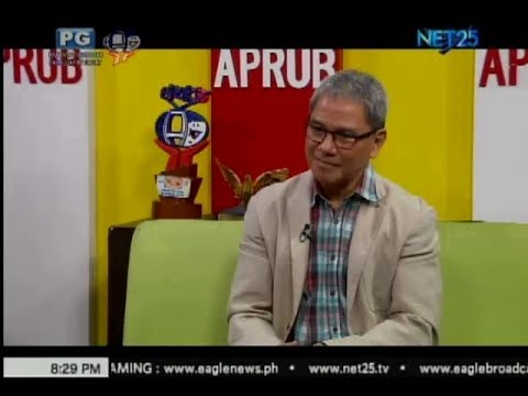 APRUB: Mr. Fabian Dayrit, Integrated Chemists of the Philippines  (July 4, 2017)