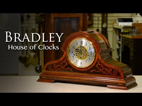 Bradley Howard Miller Mantel Clock