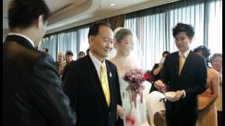 Andrew & Tanya Singapore Wedding Highlight 12.01.13