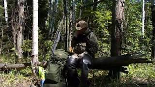 рыбалка в реке Ельчёвка#2. Поход с ночёвкой. Кто хозяйничал, пока я спал