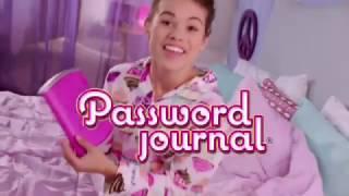 Girl Tech - Password Journal