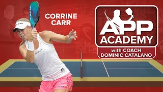Pickleball Blocking Drills with Corrine Carr: APP Academy Episode 4