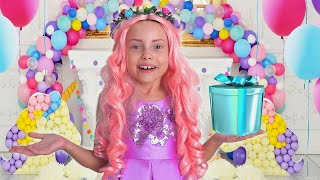 ماغي جهزوا حفلة عيد ميلاد مفاجأة للأميرة أليس عيد ميلاد سعيد