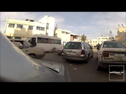150325 driving through gaza city