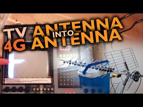 "Making of the ""Internet blaster"" 4G antenna"