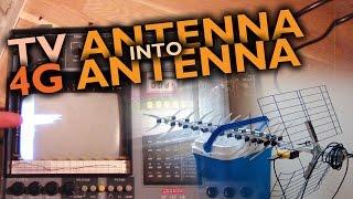 "Making of the ""Internet blaster"" 4G antenna"