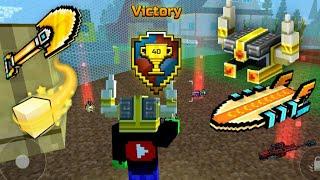 ODIN HALMET & AIR SURFBOARD *VICTORY* Pixel Gun 3D BATTLE ROYALE
