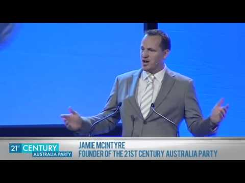 21st Century Australia Party Interview with New England Candidate, Jamie McIntyre