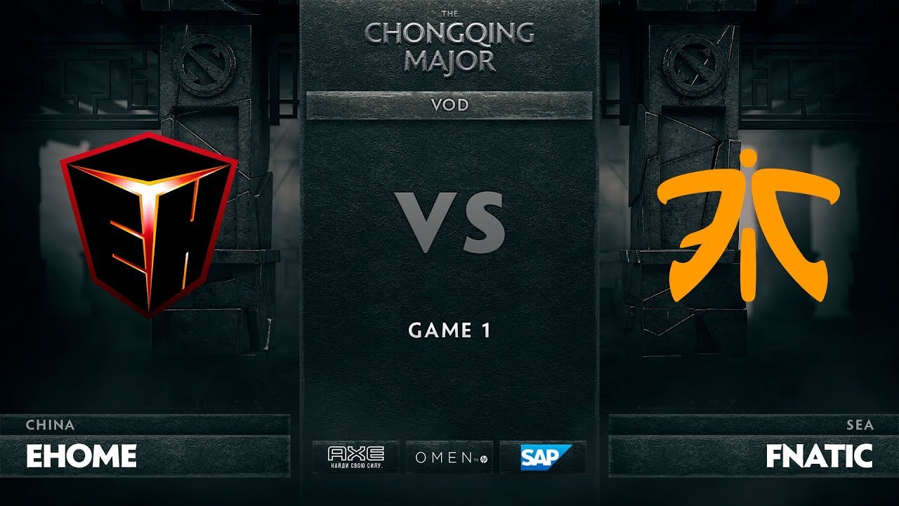 [RU] EHOME vs Fnatic, Game 1, The Chongqing Major UB Round 1