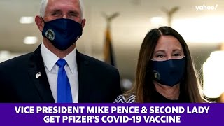 Vice President Mike Pence and Second Lady get Pfizer's COVID-19 vaccine
