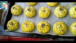 5 Dakikada Hazırlanan Sıvıyağlı Dereotlu pastane poğçası