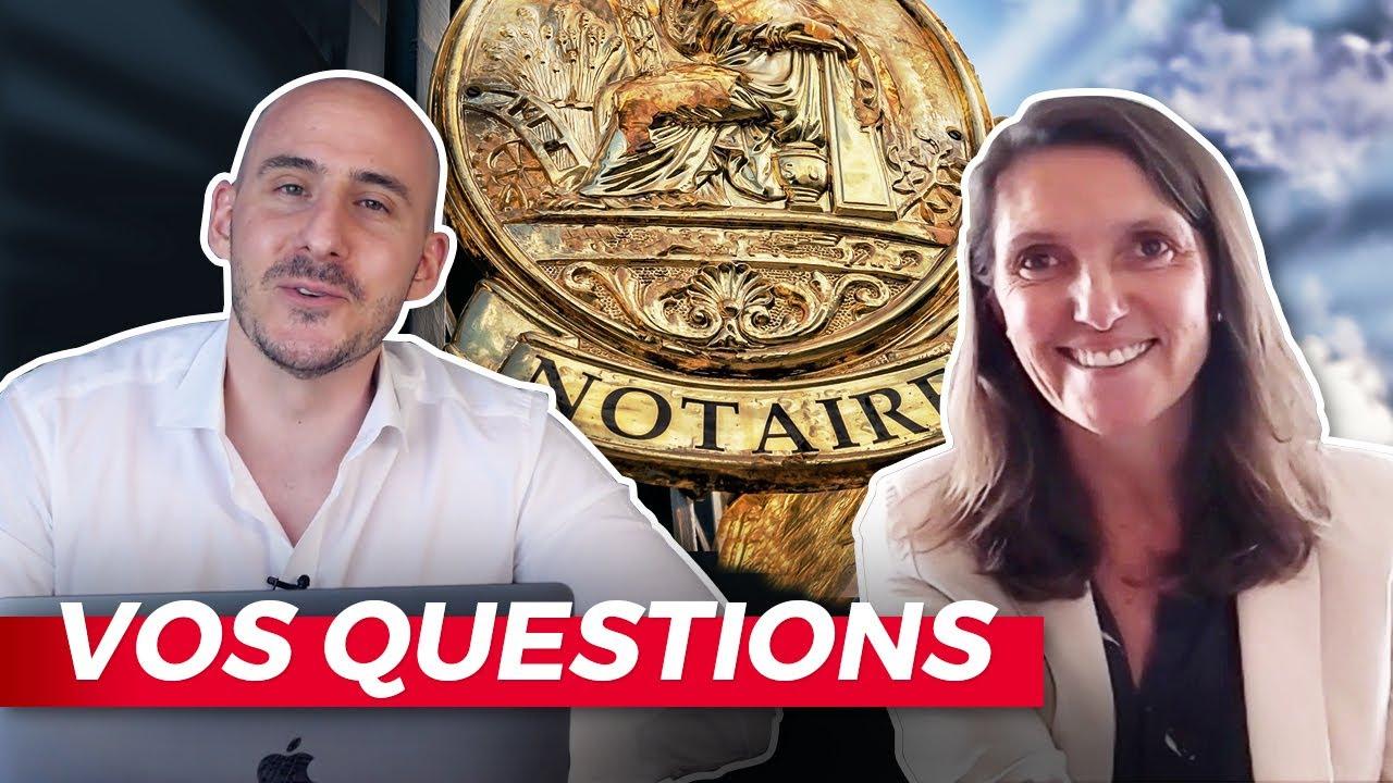 Un NOTAIRE répond à vos QUESTIONS : SCI, bail notarié, fiscalité, copropriété...