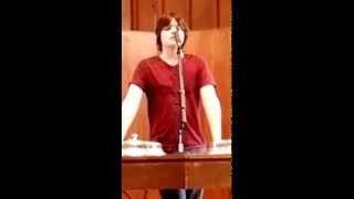 Steven's senior talk MDYC spring tour 041214 Fishinger church of Christ