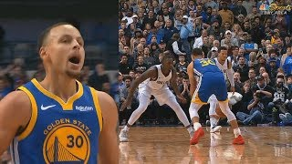 Stephen Curry Shocks Mavs With CRAZY Clutch Shot Then Harrison Barnes Costs Mavs The Game!