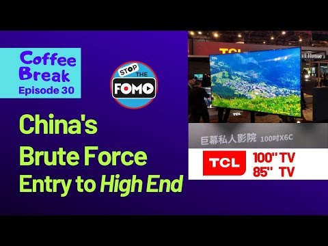 85 inch TVs Coming from TCL & Hisense: Cheap Enough? |CB#30