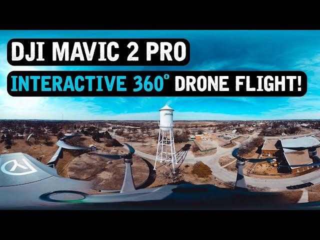 DJI Mavic 2 Pro / INTERACTIVE 360° FLIGHT! / Randlett Park / Anadarko, OK / February 19, 2020