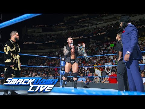 Randy Orton, Bobby Roode and Jinder Mahal come face-to-face: SmackDown LIVE, March 20, 2018