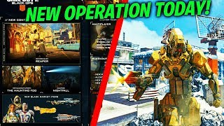 NEW OPERATION APOCALYPSE Z / NEW DLC WEAPONS, NEW REAPER SPECIALIST & MORE (BO4 UPDATE 1.20)