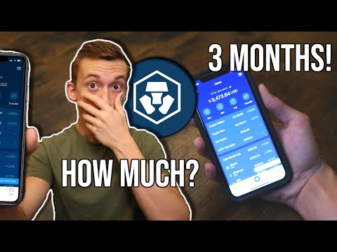 How Much Crypto Did I EARN In 3 Months with Crypto.com? *REVEALED*  Review $MCO $CRO $LINK $BNB