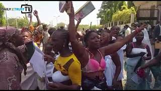 Women strip naked to protest Sowore detention