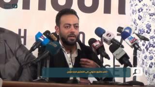 مصر العربية   تامر عاشور: دخولي إلى التمثيل قرار مؤجل