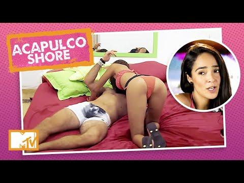 Mane, Tadeo e Tália tentam fazer MÉNAGE À TROIS   MTV Acapulco Shore T1 indir