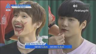 Video [produce 101 ss2] Trainees play game with lipstick download MP3, 3GP, MP4, WEBM, AVI, FLV Desember 2017