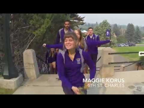 Carroll College Community Advisor Lip Dub 2015 (Miley Cyrus - The Climb)
