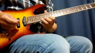 ヤングギター2015年4月号より インペリテリ・ギターレッスンのEX7を練習...