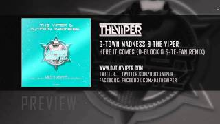 G-Town Madness & The Viper - Here it comes (D-Block & S-Te-Fan Remix)