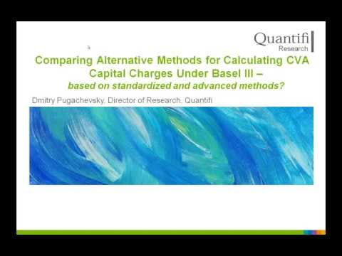 Comparing Alternative Methods for Calculating CVA Capital Charges Under Basel III