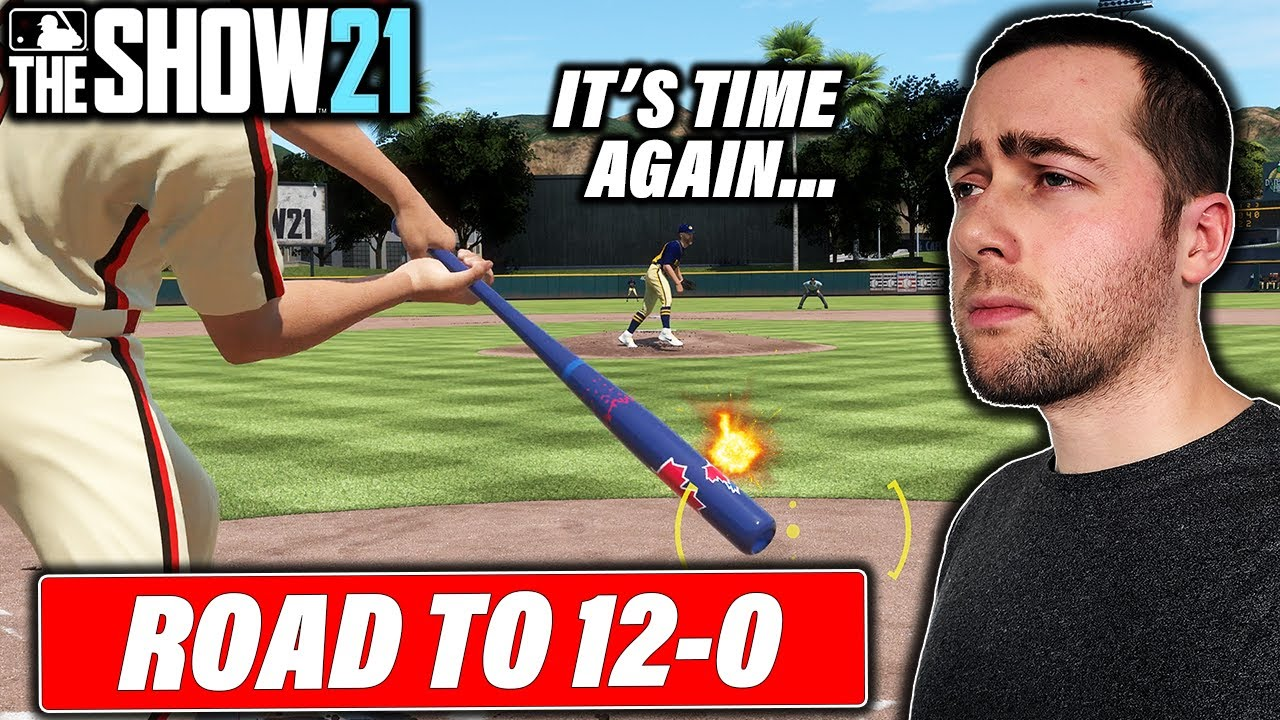 IT'S TIME TO GO 12-0 IN MLB THE SHOW 21 BATTLE ROYALE...