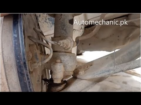 How to Check And Fix Suspension Problem In Suzuki Ravi Or Bolan | Auto Repair | Urdu Hindi Tutorial