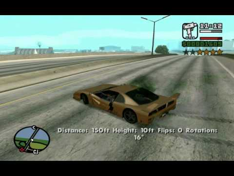 How To Get Turismo At The Very Beginning Of The Game - GTA San Andreas