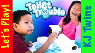 Toilet Trouble with the KJtwins