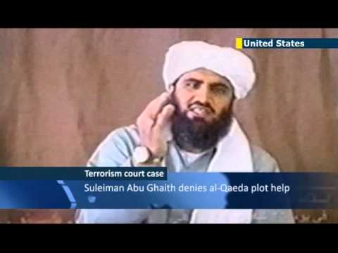 Osama Bin Laden's son-in-law Sileiman Abu Ghaith testifies in US court on terror charges