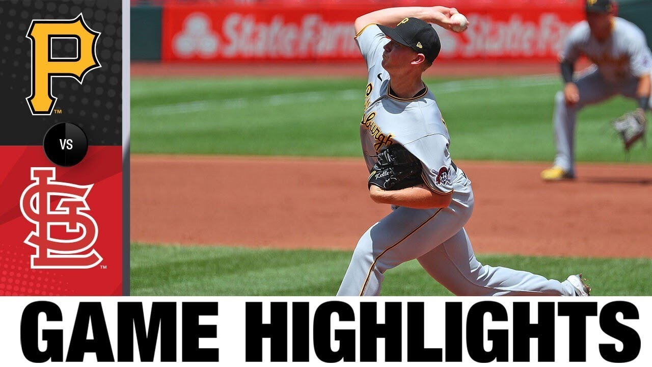 Colin Moran, José Osuna homer as Pirates net win | Pirates-Cardinals Game Highlights 7/26/20