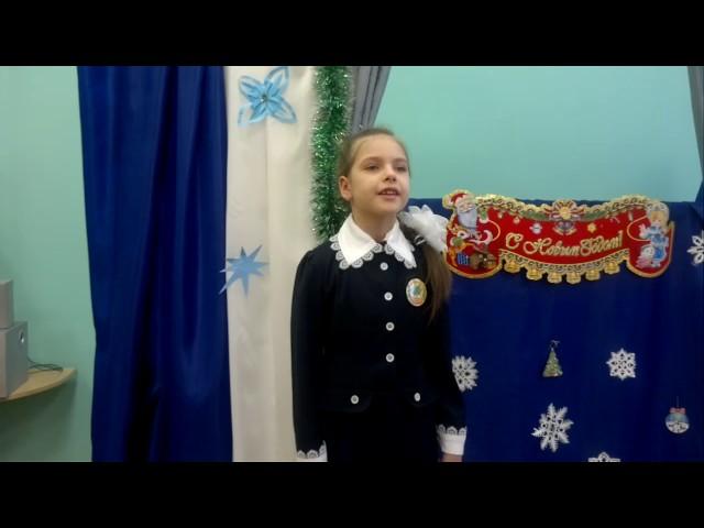 Изображение предпросмотра прочтения – ДарьяГончарова читает произведение «Снежок» Н.А.Некрасова