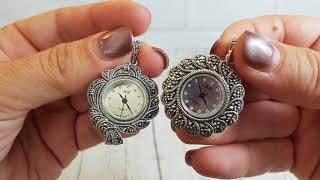 9.8.18 Капельное серебро . Часы . Кольца. Браслеты .Серьги и мое нудение в эфире.