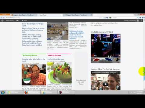 "How to install ""News Today"" WP Theme like on the demo."