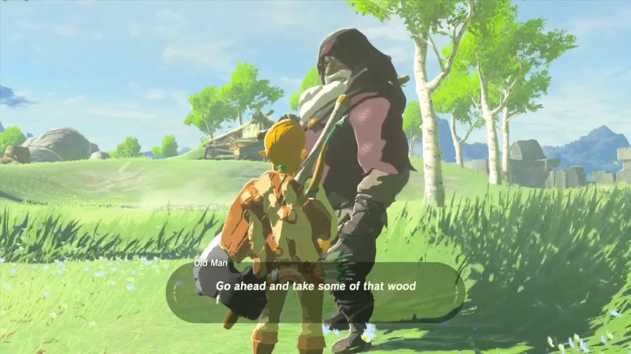 Finding The Old Mans Log Cabin Breath Of The Wild Episode 5 Youtube