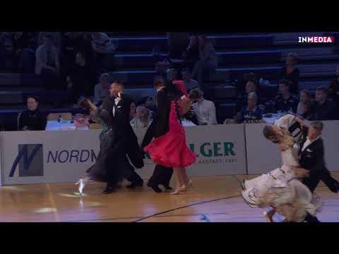 Artem Donskoy - Uljana Redtšits | R2 Viennese Waltz | Eesti Meistrivõistlused 2018
