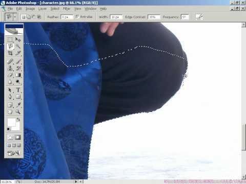Photoshop CS2 - Phần 1 - Bài 3 - Thay phông