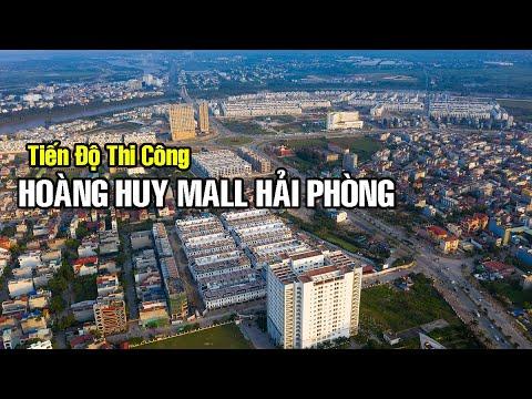 Update tiến độ thi công Hoàng Huy Mall Hải Phòng | Check in