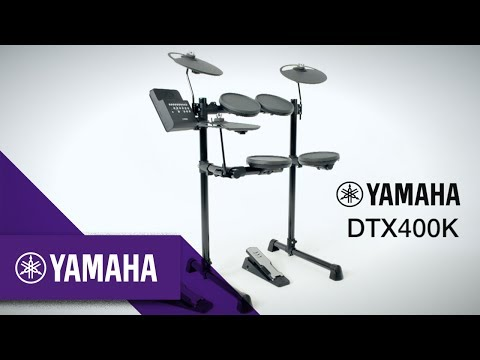 Yamaha DTX400K Review - Electronic Drum Set